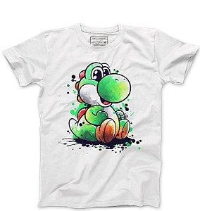 Camiseta Masculina Yoshi - Loja Nerd e Geek - Presentes Criativos