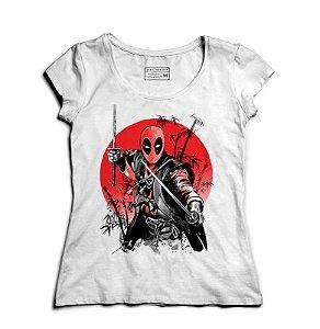 Camiseta Feminina Samurai Mascara - Loja Nerd e Geek - Presentes Criativos