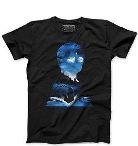 Camiseta Masculina  Book - Loja Nerd e Geek - Presentes Criativos