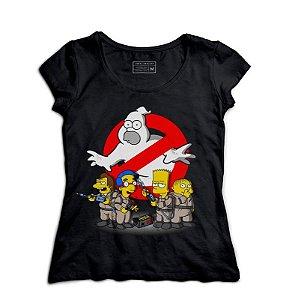 Camiseta Feminina Caças Fantasmas - Loja Nerd e Geek - Presentes Criativos