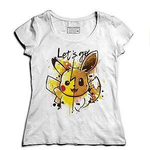 Camiseta Feminina Pikachu - Loja Nerd e Geek - Presentes Criativos
