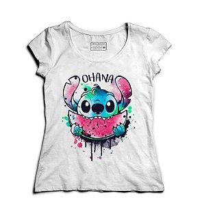 Camiseta Feminina Stitch - Loja Nerd e Geek - Presentes Criativos
