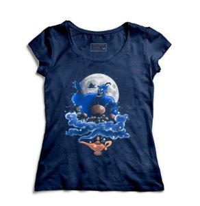 Camiseta Feminina Aladdin - Loja Nerd e Geek - Presentes Criativos