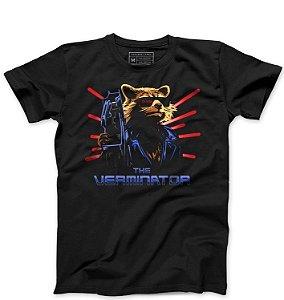 Camiseta Masculina Rocket Raccoon - Loja Nerd e Geek - Presentes Criativos