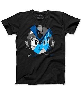 Camiseta Masculina Mega Man - Loja Nerd e Geek - Presentes Criativos