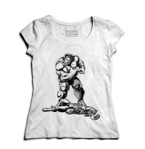 Camiseta Feminina Thor e Hulk - Loja Nerd e Geek - Presentes Criativos