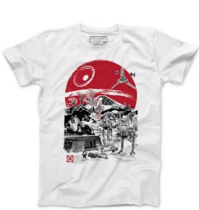 Camiseta Masculina Space Wars Filme - Loja Nerd e Geek - Presentes Criativos