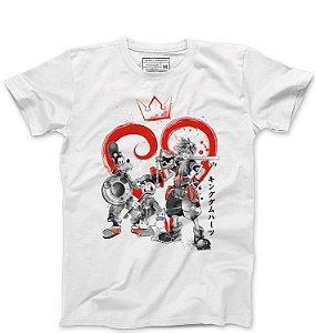 Camiseta Masculina Kingdom Hearts - Loja Nerd e Geek - Presentes Criativos