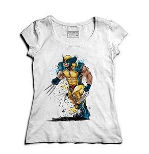 Camiseta Feminina Wolverine - Loja Nerd e Geek - Presentes Criativos