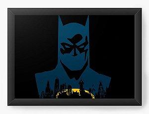 Quadro Decorativo A4 (33X24) Geekz Morcego - Loja Nerd e Geek - Presentes Criativos