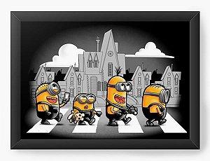 Quadro Decorativo A4 (33X24) Geekz The Minions - Loja Nerd e Geek - Presentes Criativos