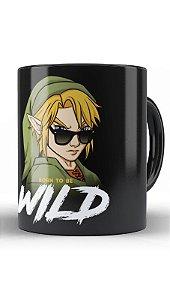 Caneca Geekz Link Wild - Loja Nerd e Geek - Presentes Criativos