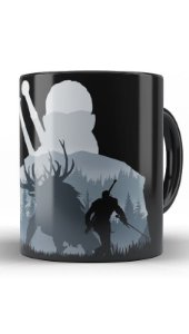 Caneca Geekz The Witcher - Loja Nerd e Geek - Presentes Criativos