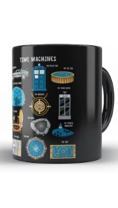 Caneca Geekz Doctor Who Machines - Loja Nerd e Geek - Presentes Criativos