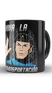 Caneca Geekz Spock Viva La - Loja Nerd e Geek - Presentes Criativos