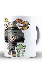 Caneca Geekz Plumber  e Yoshi - Loja Nerd e Geek - Presentes Criativos