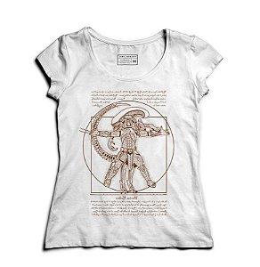 Camiseta Feminina Alien vs Predador - Loja Nerd e Geek - Presentes Criativos
