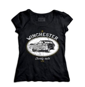Camiseta Feminina Supernatural - Loja Nerd e Geek - Presentes Criativos