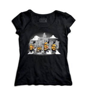 Camiseta Feminina The Minions - Loja Nerd e Geek - Presentes Criativos