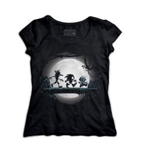Camiseta Feminina Sonic e Plumber - Hakuna Matata - Loja Nerd e Geek - Presentes Criativos
