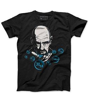 Camiseta Masculina Heiseberg - Loja Nerd e Geek - Presentes Criativos
