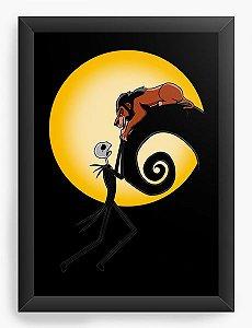 Quadro Decorativo A4 (33X24) Geekz Rei da Selva -  - Loja Nerd e Geek - Presentes Criativos