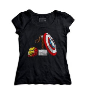 Camiseta Feminina Vingança - Poderes - Loja Nerd e Geek - Presentes Criativos