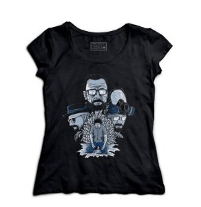 Camiseta Feminina Breaking Bad - Loja Nerd e Geek - Presentes Criativos