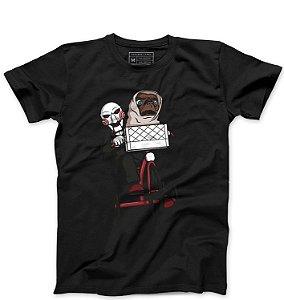 Camiseta Masculina Jogos Mortais ET- Loja Nerd e Geek - Presentes Criativos