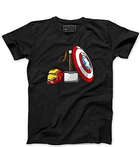 Camiseta Masculina Vingança - Poderes - Loja Nerd e Geek - Presentes Criativos