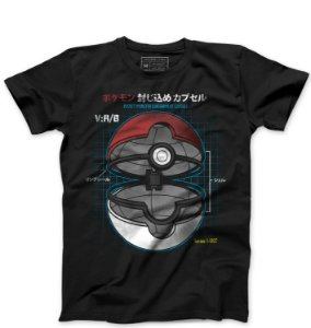Camiseta Masculina Pokemon - Loja Nerd e Geek - Presentes Criativos