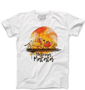 Camiseta Masculina Rei Leão - Hakuna Matata - Loja Nerd e Geek - Presentes Criativos