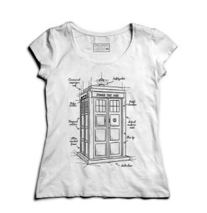 Camiseta Feminina Doctor Who - Loja Nerd e Geek - Presentes Criativos