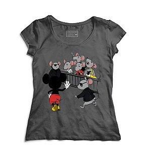 Camiseta Feminina Mickey Mouse - Loja Nerd e Geek - Presentes Criativos
