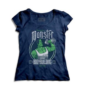 Camiseta Feminina Hulk Monster - Loja Nerd e Geek - Presentes Criativos