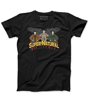 Camiseta Masculina Supernatural - Loja Nerd e Geek - Presentes Criativos