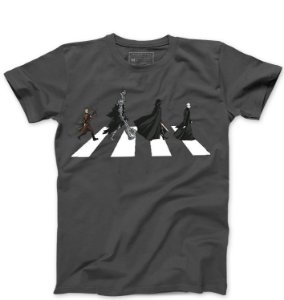Camiseta Masculina The Dark Road - Loja Nerd e Geek - Presentes Criativos