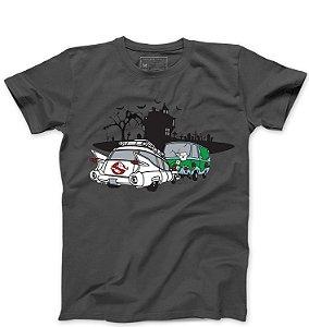 Camiseta Masculina Fantasma - Loja Nerd e Geek - Presentes Criativos