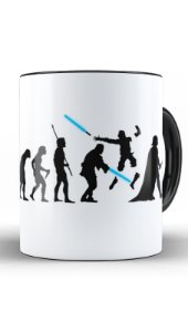 Caneca Geekz Space Wars Evolution - Loja Nerd e Geek - Presentes Criativos