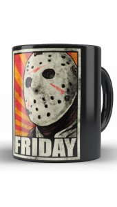 Caneca Geekz Friday - Jason