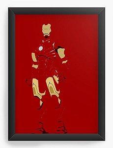 Quadro Decorativo A4 (33X24) Galact - Loja Nerd e Geek - Presentes Criativos