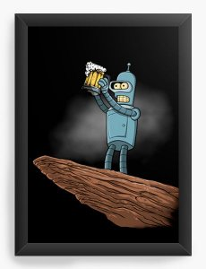 Quadro Decorativo The Robo Beer
