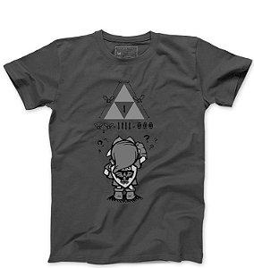 Camiseta Masculina Triforce - Loja Nerd e Geek - Presentes Criativos