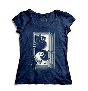 Camiseta Feminina Monstros SA - Loja Nerd e Geek - Presentes Criativos