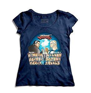 Camiseta Feminina Throne Fighter   - Loja Nerd e Geek - Presentes Criativos