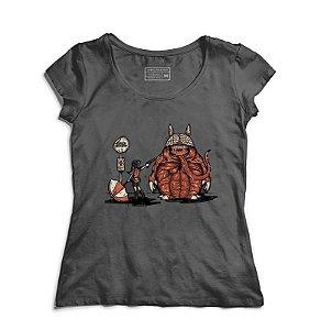 Camiseta Feminina R-Evil Totoro - Loja Nerd e Geek - Presentes Criativos