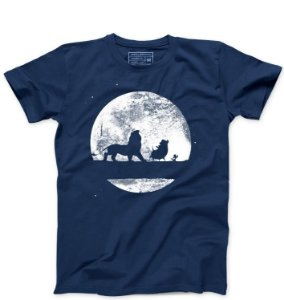 Camiseta Masculina The King   - Loja Nerd e Geek - Presentes Criativos