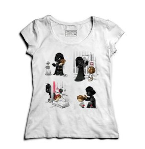 Camiseta Feminina Dark Daddy - Loja Nerd e Geek - Presentes Criativos