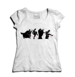 Camiseta Feminina Space Wars: Road - Loja Nerd e Geek - Presentes Criativos