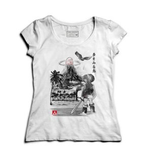 Camiseta Feminina Elf -  Entre Mundos - Loja Nerd e Geek - Presentes Criativos